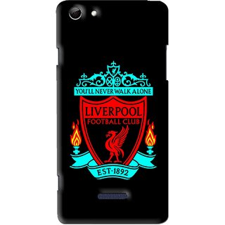 Snooky Printed Football Club Mobile Back Cover For Micromax Canvas Selfie 3 Q348 - Multi