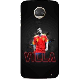 Snooky Printed Sports Villa Mobile Back Cover For Motorola Moto Z2 Play  - Multicolour