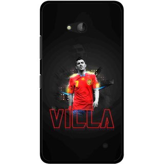 Snooky Printed Sports Villa Mobile Back Cover For Nokia Lumia 640 - Multicolour