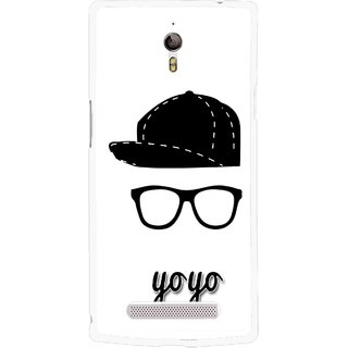 Snooky Printed Yo Yo Mobile Back Cover For Oppo Find 7 - Multicolour