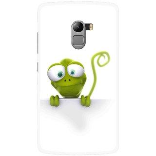 Snooky Printed Seeking Alien Mobile Back Cover For Lenovo K4 Note - White
