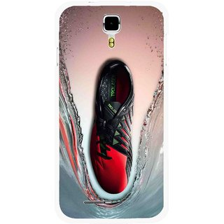 Snooky Printed Water Mobile Back Cover For Micromax Canvas Juice A177 - Multicolour