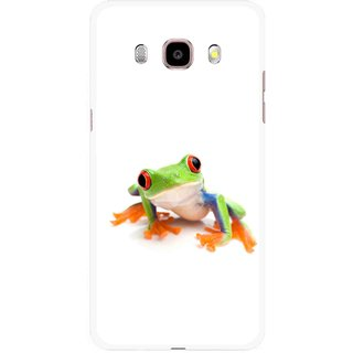 Snooky Printed Frog Mobile Back Cover For Samsung Galaxy J5 (2017) - Multicolour