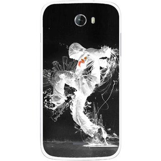 Snooky Printed Dance Mania Mobile Back Cover For Micromax Bolt A068 - Multicolour