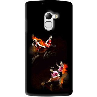 Snooky Printed Sports Player Mobile Back Cover For Lenovo K4 Note - Multi