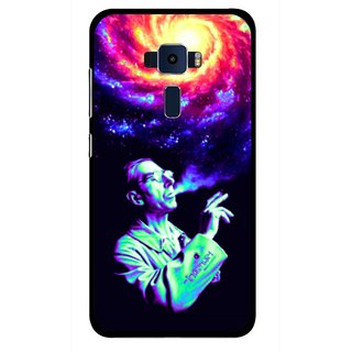 Snooky Printed Universe Mobile Back Cover For Asus Zenfone 3 ZE520KL - Multi