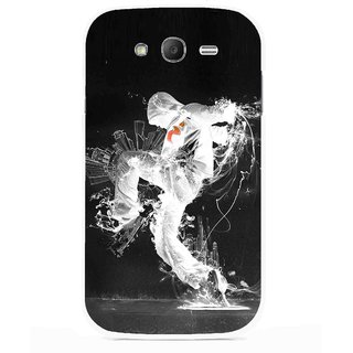 Snooky Printed Dance Mania Mobile Back Cover For Samsung Galaxy Grand I9082 - Multicolour