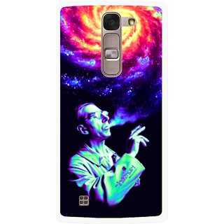 Snooky Printed Universe Mobile Back Cover For Lg Spirit - Multi