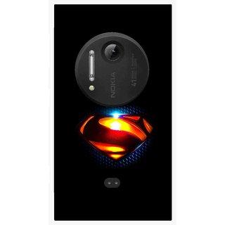 Snooky Printed Super Hero Mobile Back Cover For Nokia Lumia 1020 - Multi