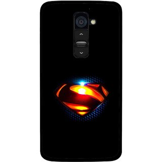 Snooky Printed Super Hero Mobile Back Cover For Lg G2 - Multi