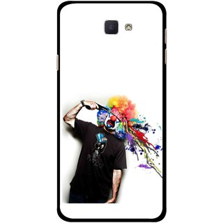Snooky Printed Shooting Joker Mobile Back Cover For Samsung Galaxy J7 Prime - Multicolour