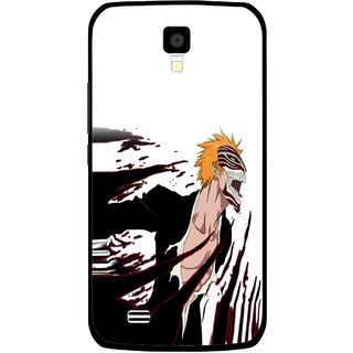 Snooky Printed Angry Devil Mobile Back Cover For Gionee Pioneer P2S - Multicolour
