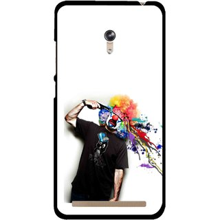 Snooky Printed Shooting Joker Mobile Back Cover For Asus Zenfone 6 - Multicolour