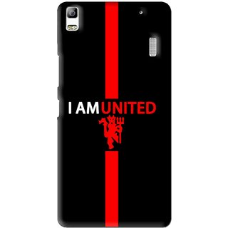 Snooky Printed United Mobile Back Cover For Lenovo A7000 - Multi