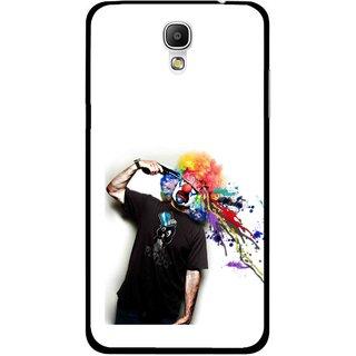 Snooky Printed Shooting Joker Mobile Back Cover For Samsung Galaxy Mega 2 - Multicolour