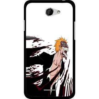 Snooky Printed Angry Devil Mobile Back Cover For HTC Desire 516 - Multicolour