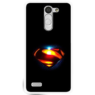 Snooky Printed Super Hero Mobile Back Cover For Lg L Fino - Multi