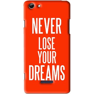 Snooky Printed Never Loose Mobile Back Cover For Micromax Canvas Selfie 3 Q348 - Multi
