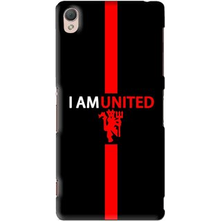 Snooky Printed United Mobile Back Cover For Sony Xperia Z3 - Multi