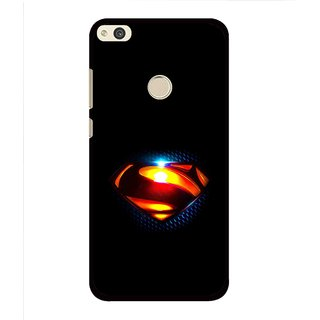 Snooky Printed Super Hero Mobile Back Cover For Huawei Honor 8 Lite - Multi