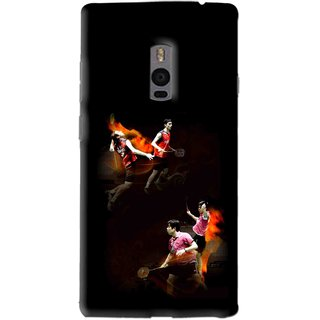 Snooky Printed Sports Player Mobile Back Cover For OnePlus 2 - Multi