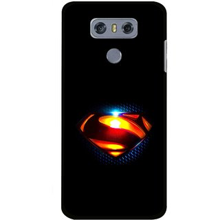 Snooky Printed Super Hero Mobile Back Cover For LG G6 - Multi