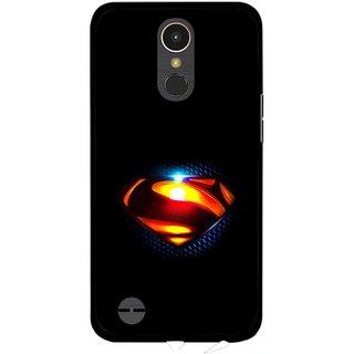 Snooky Printed Super Hero Mobile Back Cover For LG K10 2017 - Multi
