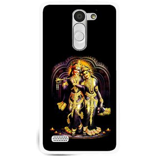 Snooky Printed Radha Krishan Mobile Back Cover For Lg L Fino - Multi
