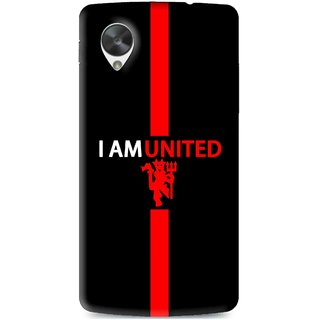Snooky Printed United Mobile Back Cover For Lg Google Nexus 5 - Multi
