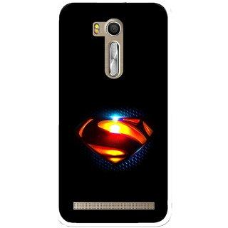 Snooky Printed Super Hero Mobile Back Cover For Asus Zenfone Go ZB551KL - Multi