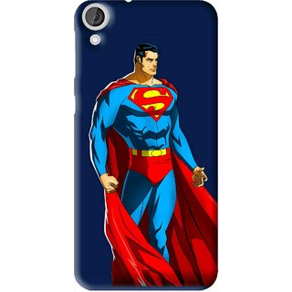 Snooky Printed Super Hero Mobile Back Cover For HTC Desire 820 - Multi