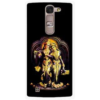 Snooky Printed Radha Krishan Mobile Back Cover For Lg Magna - Multi