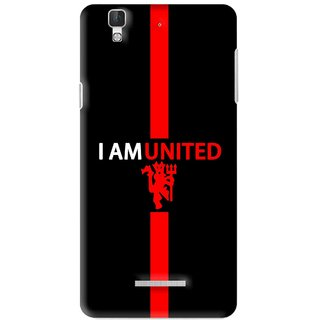 Snooky Printed United Mobile Back Cover For Micromax YU YUREKA - Multi