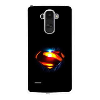 Snooky Printed Super Hero Mobile Back Cover For Lg G4 Stylus - Multi