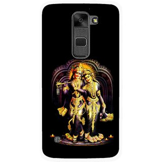 Snooky Printed Radha Krishan Mobile Back Cover For Lg Stylus 2 - Multi