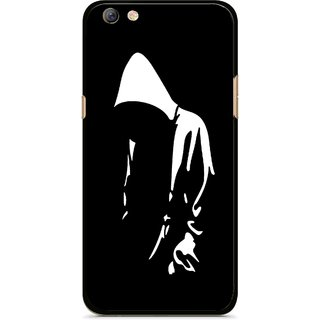 Snooky Printed Thinking Man Mobile Back Cover For Oppo F3 plus - Multi