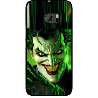 Snooky Printed Horror Wilian Mobile Back Cover For HTC One M10 - Green