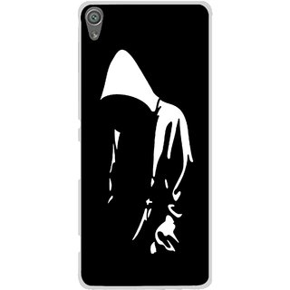 Snooky Printed Thinking Man Mobile Back Cover For Sony Xperia XA1 - Multi