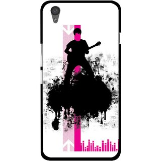 Snooky Printed Music In Air Mobile Back Cover For One Plus X - Multi