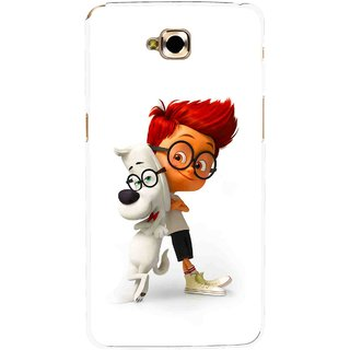 Snooky Printed My Friend Mobile Back Cover For Lg G Pro Lite - White