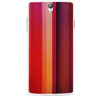 Snooky Printed Colorfull Stripes Mobile Back Cover For Oppo Find 5 Mini - Multicolour