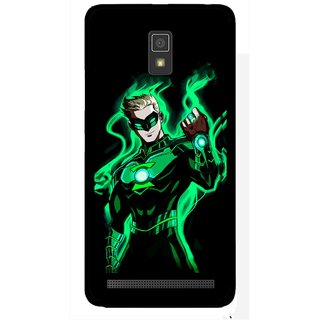 Snooky Printed Come On Mobile Back Cover For Lenovo A6600 - Multicolour