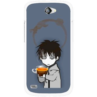 Snooky Printed Need Rest Mobile Back Cover For Gionee Pioneer P3 - Blue