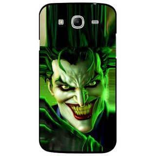 Snooky Printed Horror Wilian Mobile Back Cover For Samsung Galaxy Mega 5.8 - Green