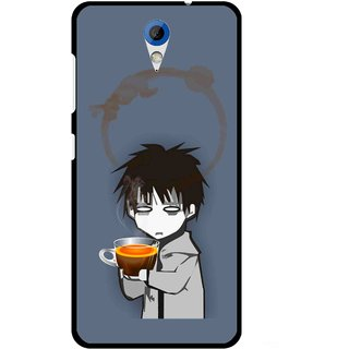 Snooky Printed Need Rest Mobile Back Cover For HTC Desire 620 - Blue
