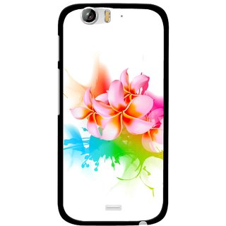 Snooky Printed Colorfull Flowers Mobile Back Cover For Micromax Canvas Turbo A250 - Multi