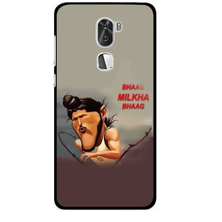 Snooky Printed Bhaag Milkha Mobile Back Cover For Coolpad Cool 1 - Multi