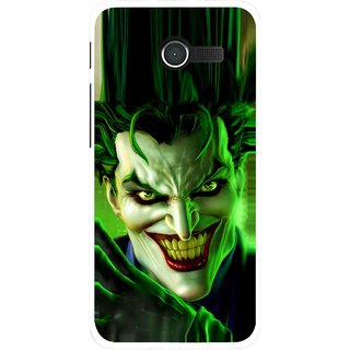 Snooky Printed Horror Wilian Mobile Back Cover For Asus Zenfone 4 - Green