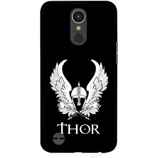 Snooky Printed The Thor Mobile Back Cover For LG K10 2017 - Multi