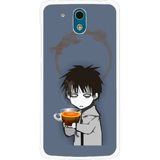 Snooky Printed Need Rest Mobile Back Cover For HTC Desire 326G - Blue